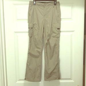 Boys EMS Cargo Trail Pants. Khaki. Medium. NWOT